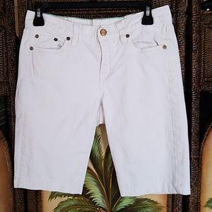 J. Crew Bermuda Jean shorts